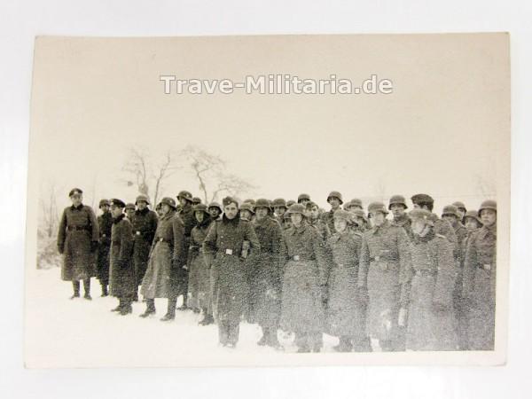 Foto 1941 Truppe im Schnee
