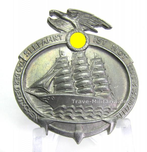 Abzeichen Seefahrt ist Not - Hersteller Carl Wild