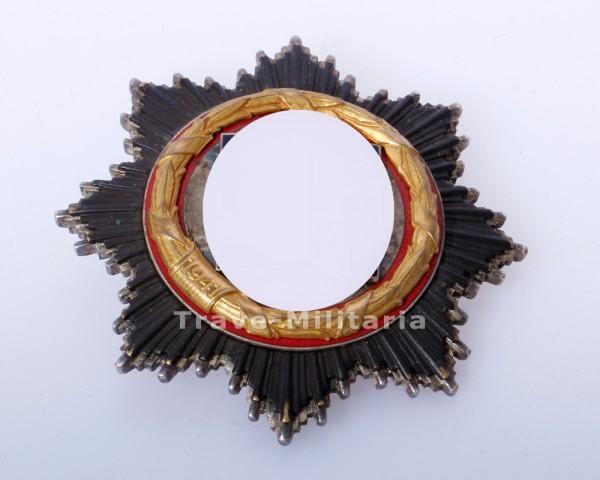 Deutsches Kreuz in Gold - seltene 6 Nieter Ausführung